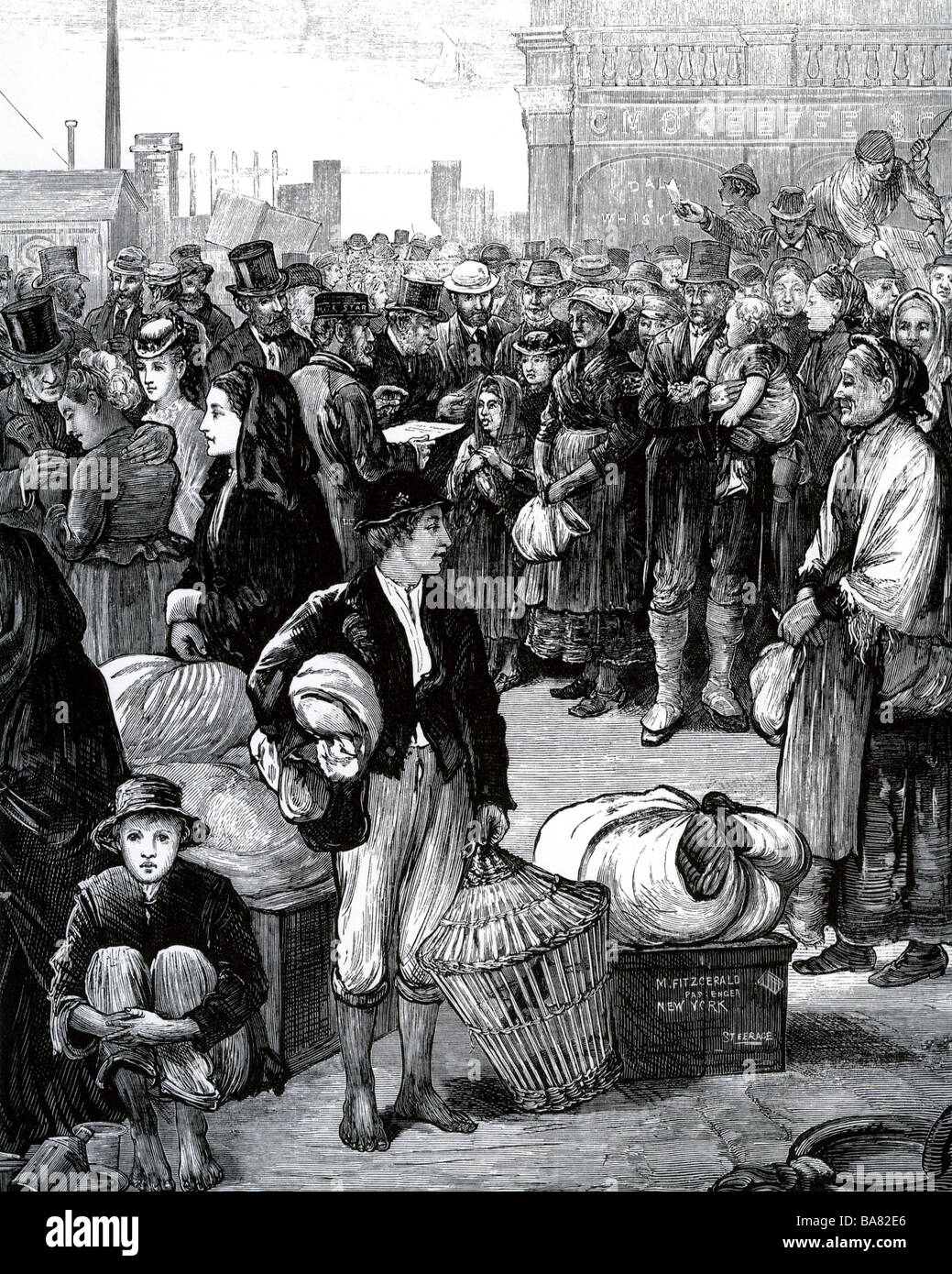 immigration in the 19th century essay Topic: the immigration of east indian indentured workers to the caribbean in the 19th century could be regarded as a new system of slavery slavery was the initial labour system used by.