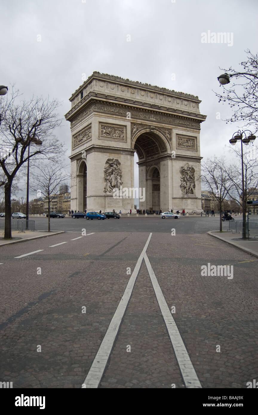 Arc De Triomphe Place De L 39 Etoile Paris France Triumph