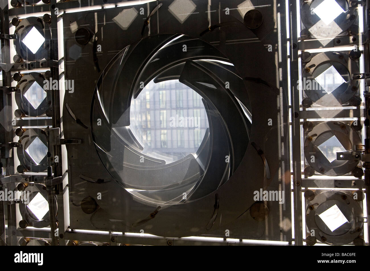 france  paris  institut du monde arabe  arab world institute  by stock photo  royalty free image