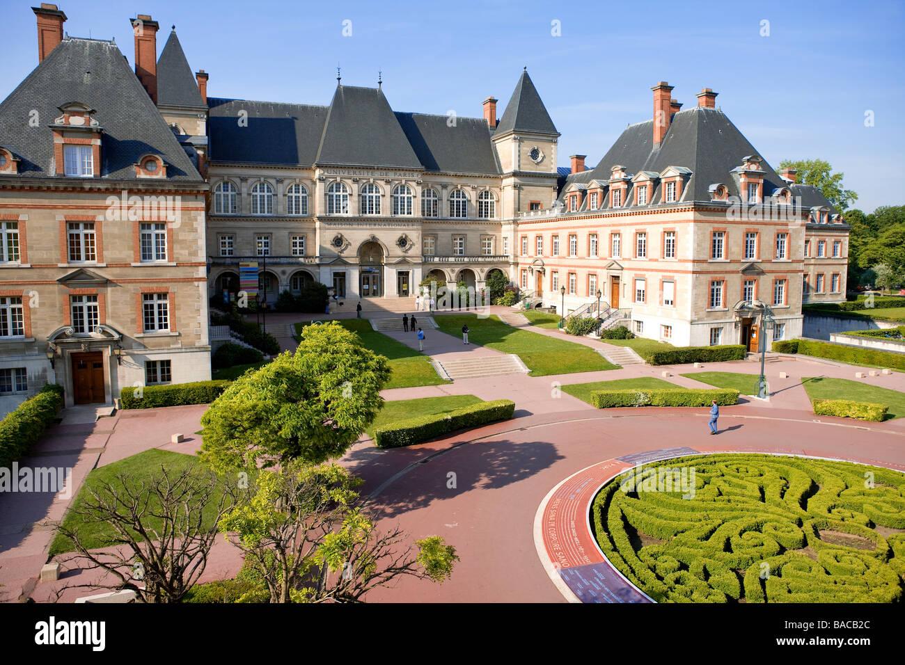 France paris cite internationale universitaire for Maison de norvege cite universitaire