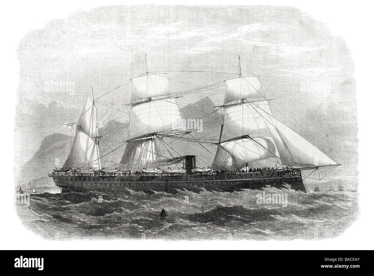 "Image result for TROOP SHIP""SERAPIS"" TO INDIA 1867"
