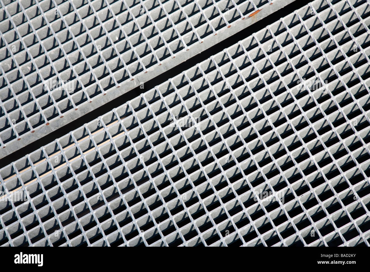 Metal floor grating Stock Photo, Royalty Free Image ...
