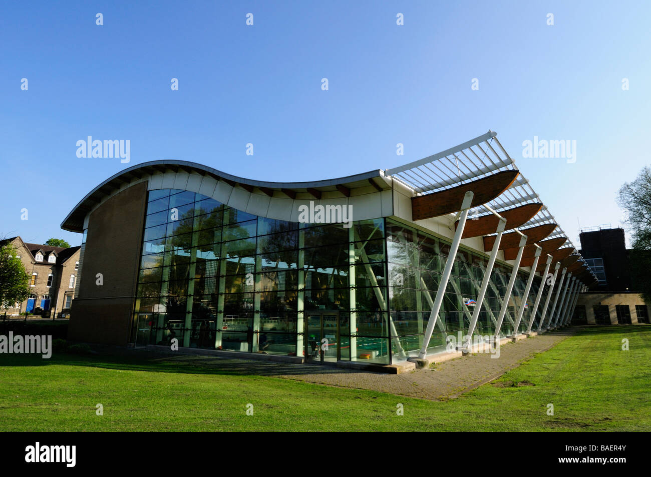 Parkside Pools Swimming Pool Cambridge England Uk Stock Photo Royalty Free Image 23682427 Alamy