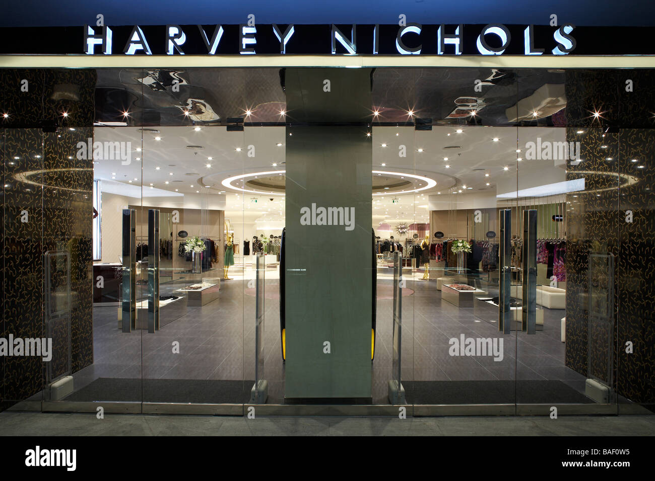 harvey nichols department store istanbul istanbul turkey four iv stock photo royalty free. Black Bedroom Furniture Sets. Home Design Ideas