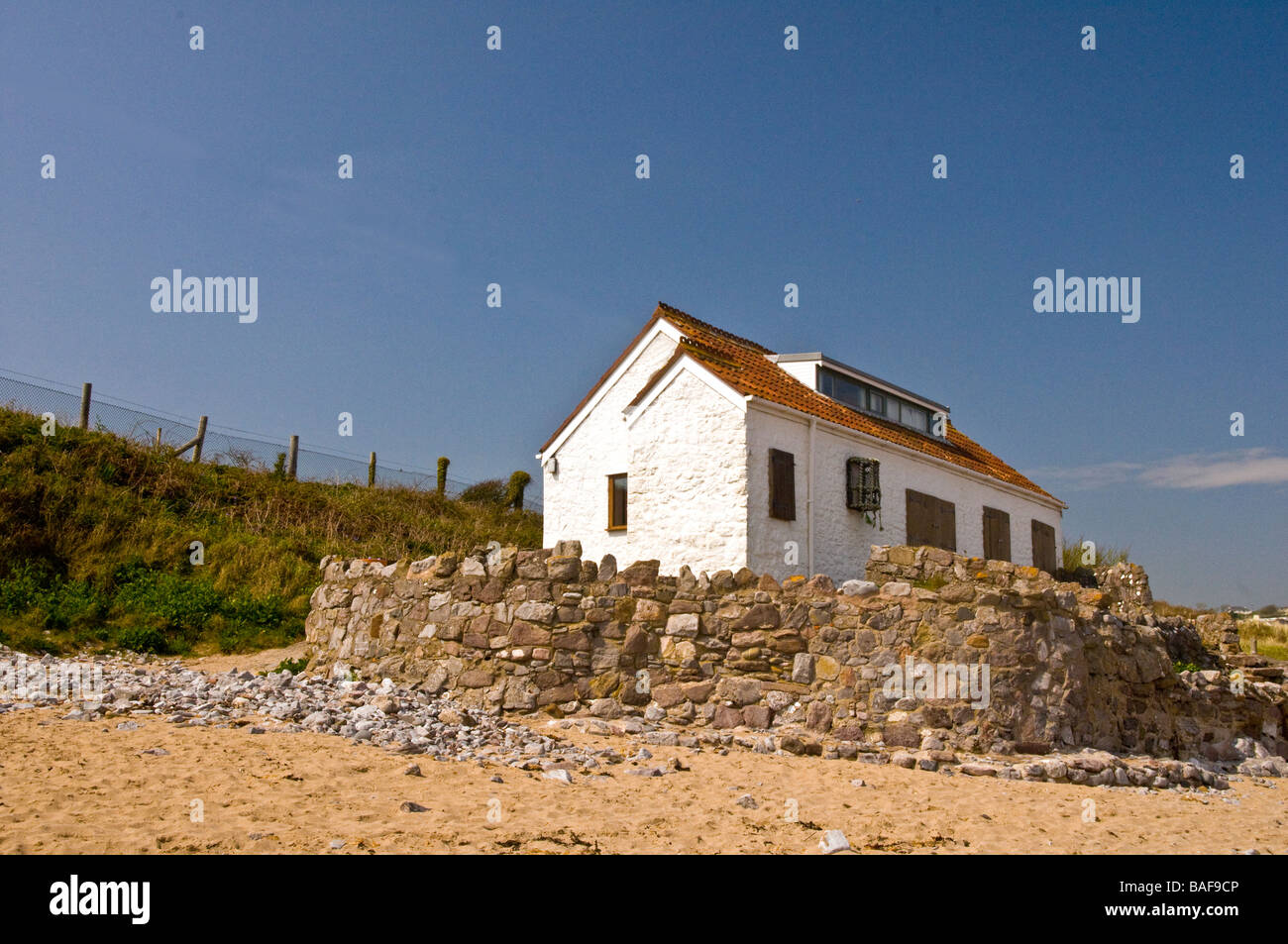 The old fisherman 39 s cottage at port eynon beach on the gower stock photo royalty free image - The fishermans cottage ...