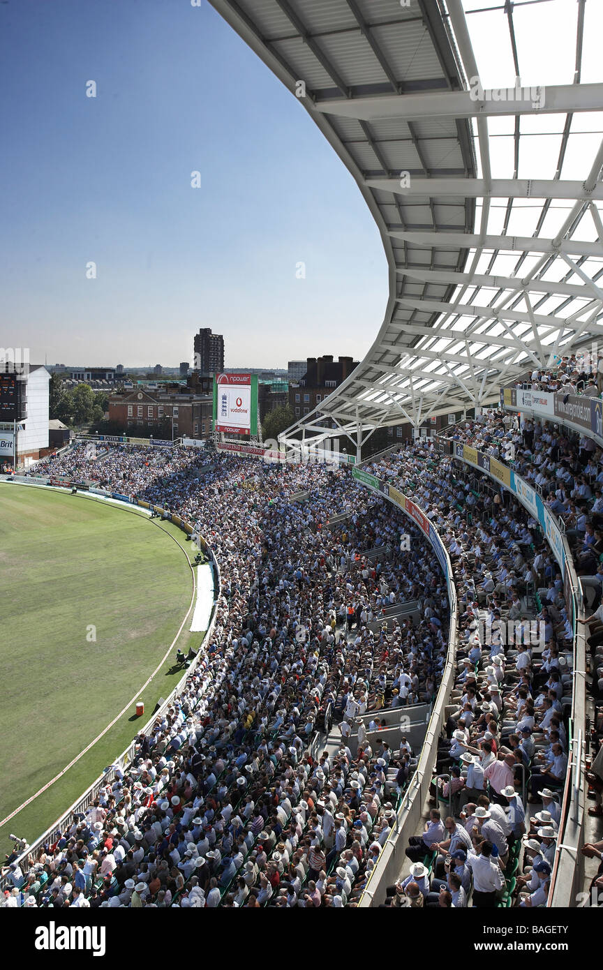 Ocs Stand London United Kingdom Hok Sport/the Miller Partnership Ocs stand canopy and crowd from 4TH floor balcony & Ocs Stand London United Kingdom Hok Sport/the Miller ...