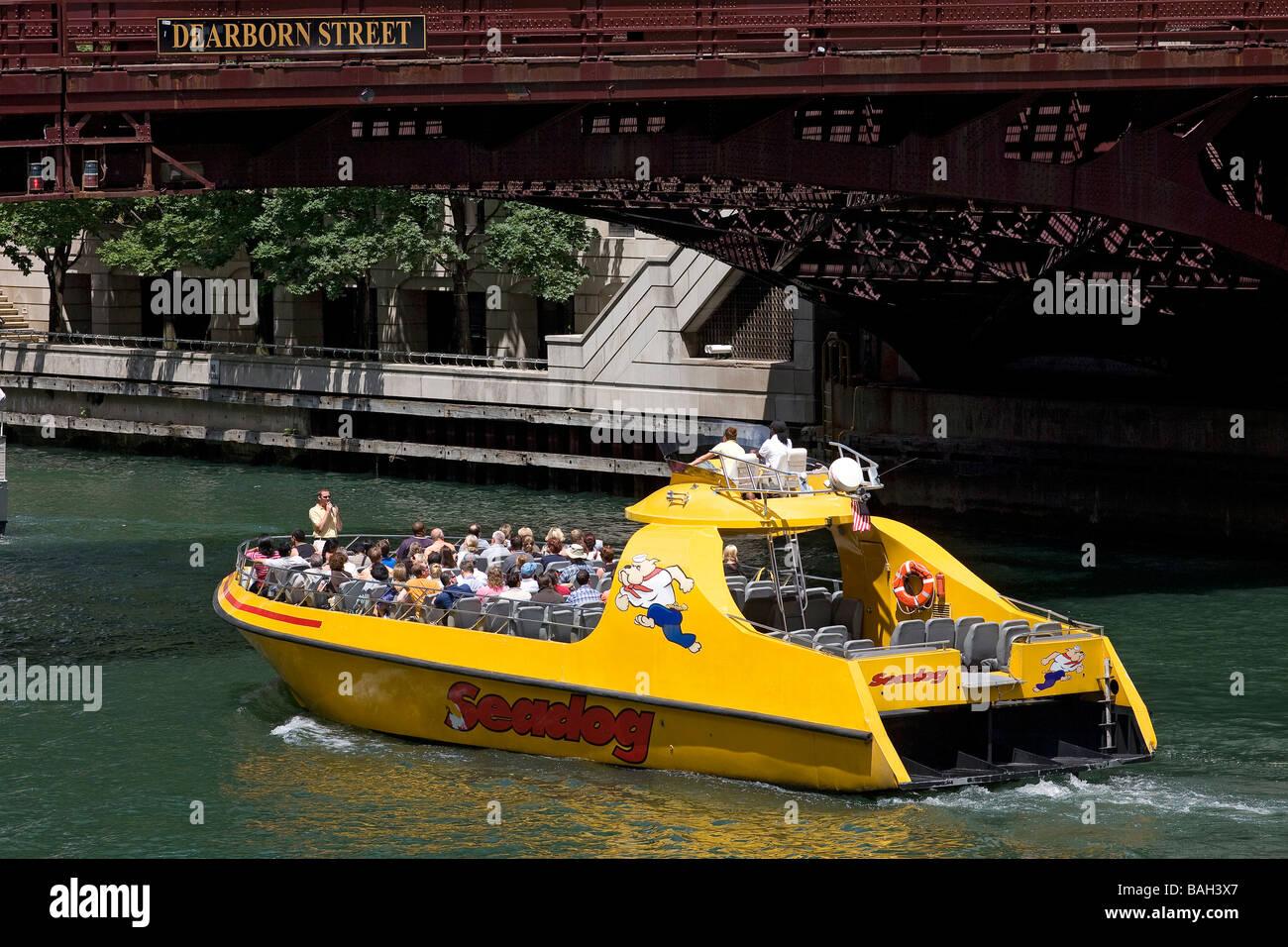 United States Illinois Chicago Chicago River Cruise Ship - United states river cruises