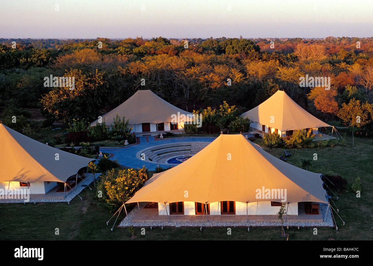 India Rajasthan State Ranthambore Oberoi Vanyavilas resort located next to the Ranthambore National Park and Tiger Reserve & India Rajasthan State Ranthambore Oberoi Vanyavilas resort ...