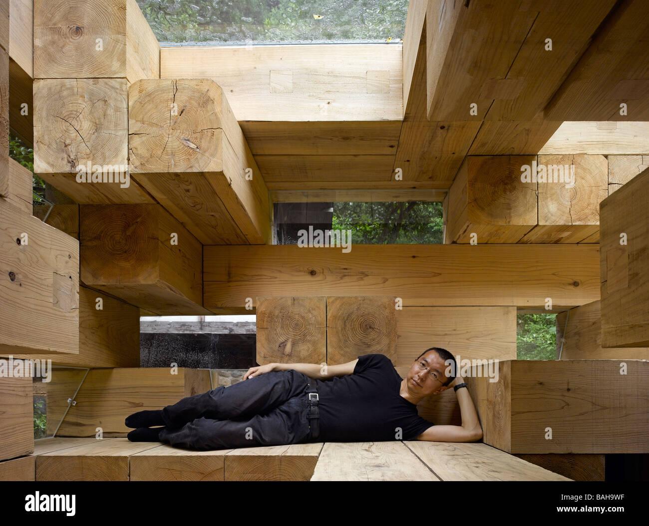 Final wooden house kumamoto japan sou fujimoto for O house sou fujimoto