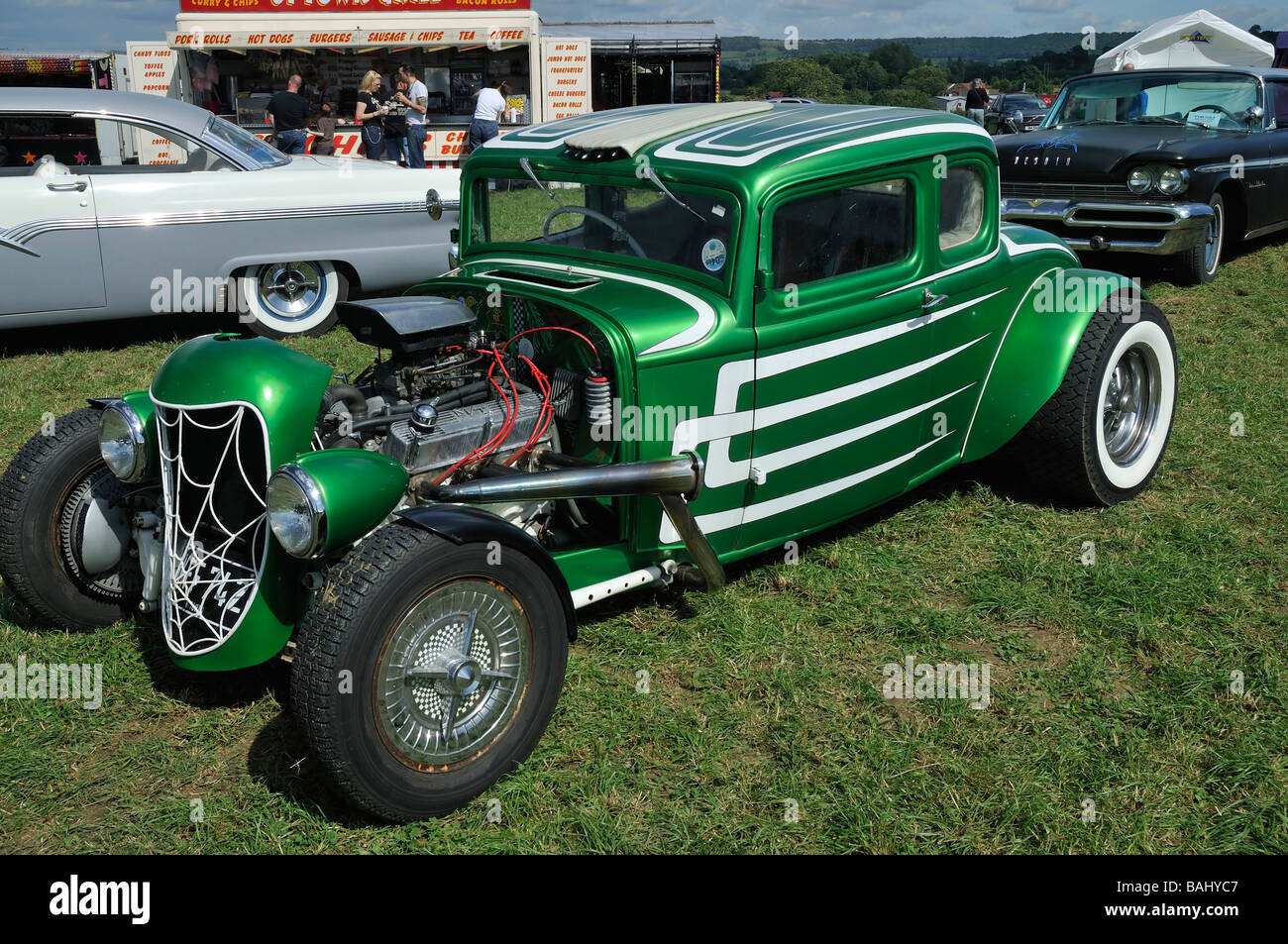 Custom 1932 Ford Model B 5 window Coupe Street Rod with 1956 Ford ...