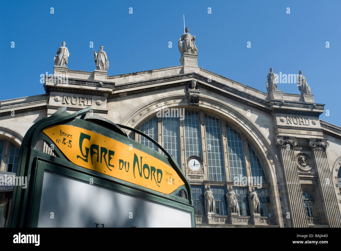 gare du nord north railway station of paris paris france and stock photo royalty free image. Black Bedroom Furniture Sets. Home Design Ideas