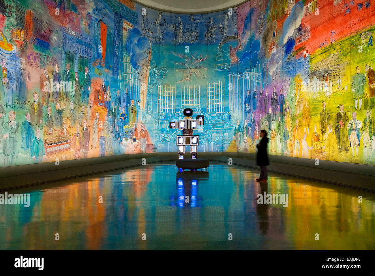 musee d moderne de la ville de modern stock photo royalty free