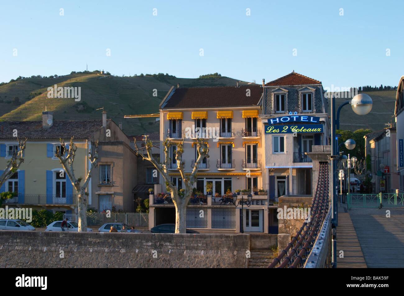 Hotel les deux coteaux tain l hermitage rhone france stock for Les hotels francais