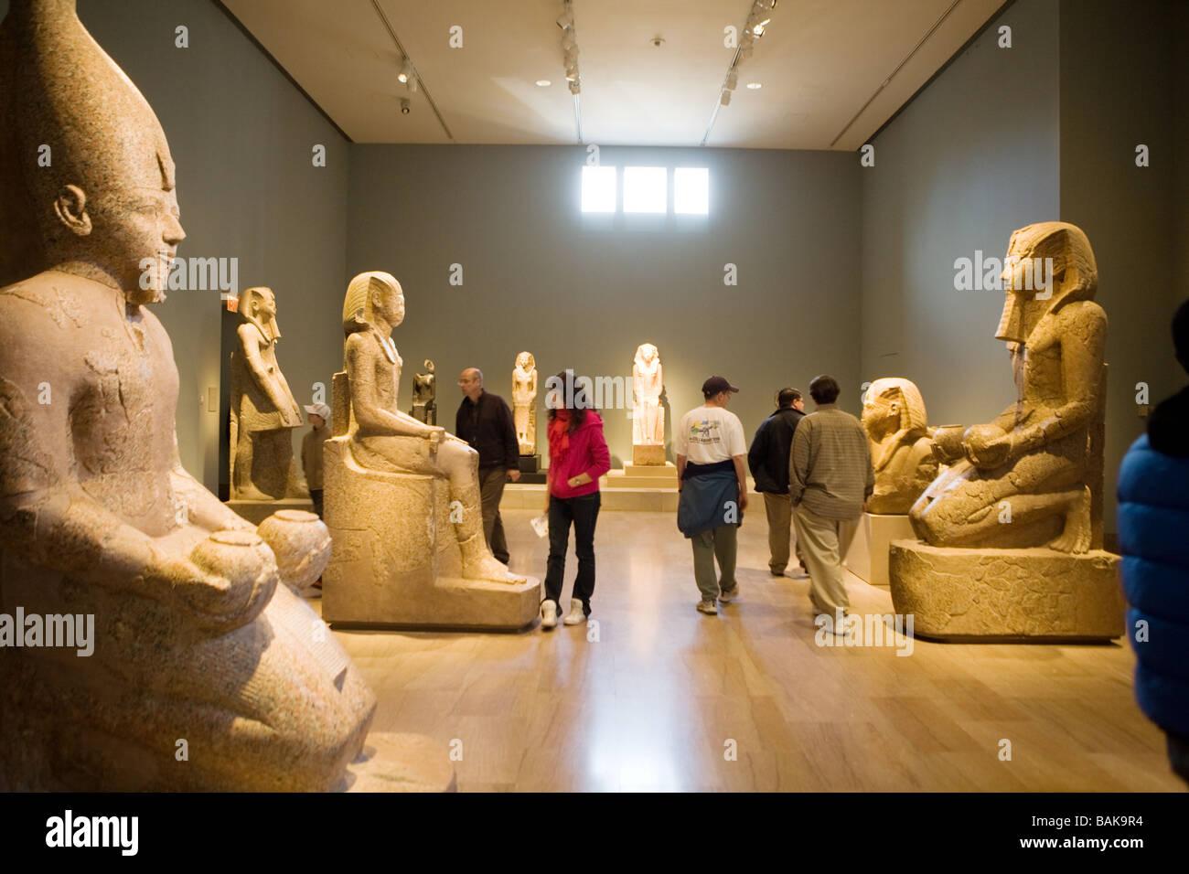 Metropolitan Museum Of Art Stock Photos Metropolitan: Egyptian Art At Metropolitan Museum Of Art New York City