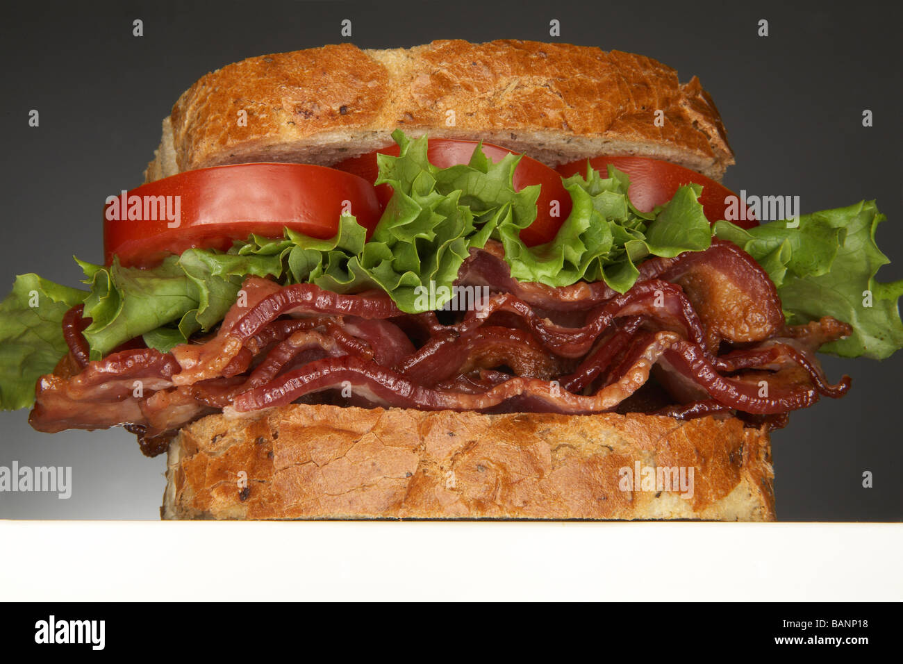 Bacon, Lettuce And Tomato Sandwich (blt Stock Photo, Royalty Free ...
