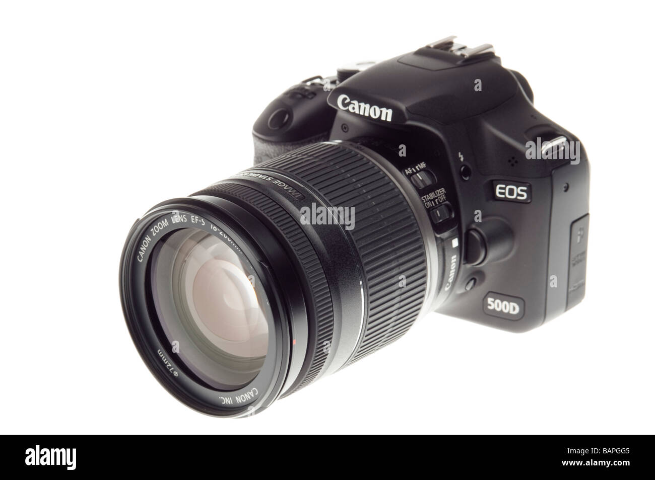 Camera Hd Dslr Camera With Video digital slr camera canon eos 500d hd video with zoom lens stock lens