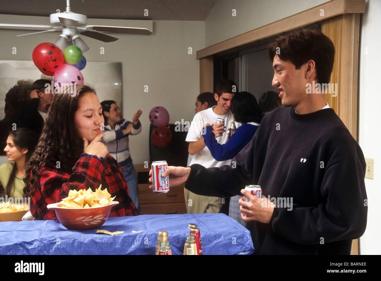 Peer pressures effect on teen drinking