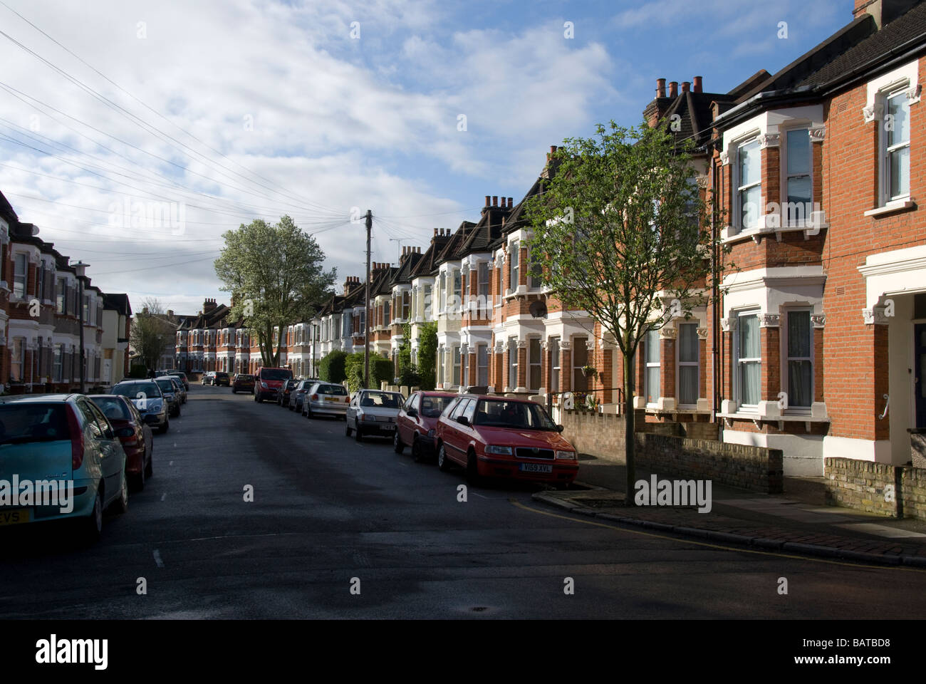 Terraced houses bromley kent england uk stock photo for The bromley