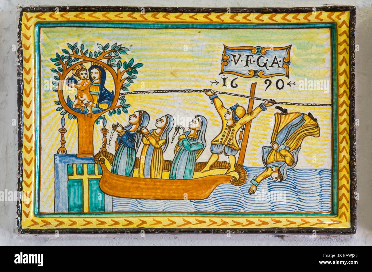 Santuario madonna dei bagni ex voto deruta umbria italy for Deghi bagni