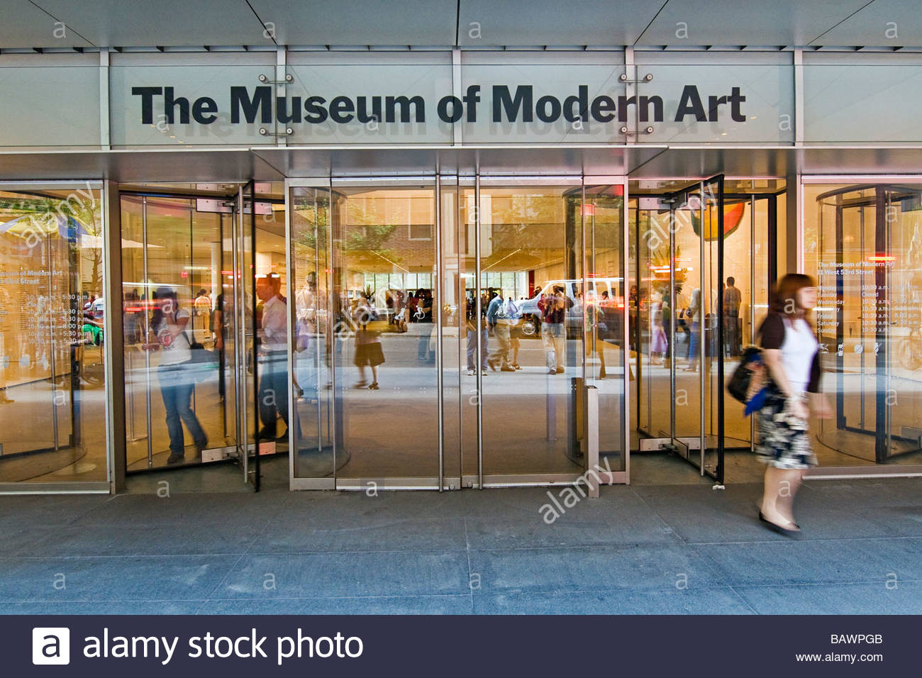 the museum of modern art moma new york city usa stock photo royalty free image 23923435 alamy. Black Bedroom Furniture Sets. Home Design Ideas