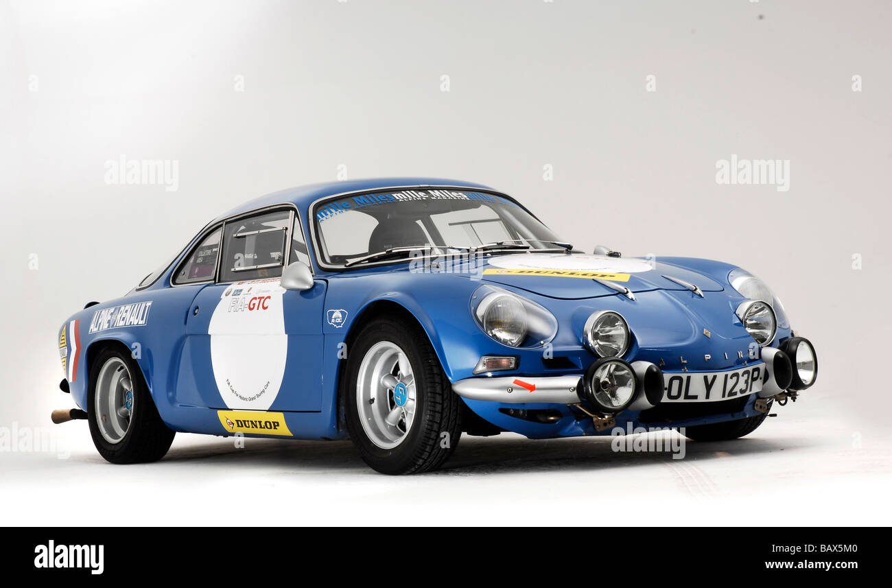 alpine renault a110 berlinette 1974 stock photo royalty free image 23932160 alamy. Black Bedroom Furniture Sets. Home Design Ideas