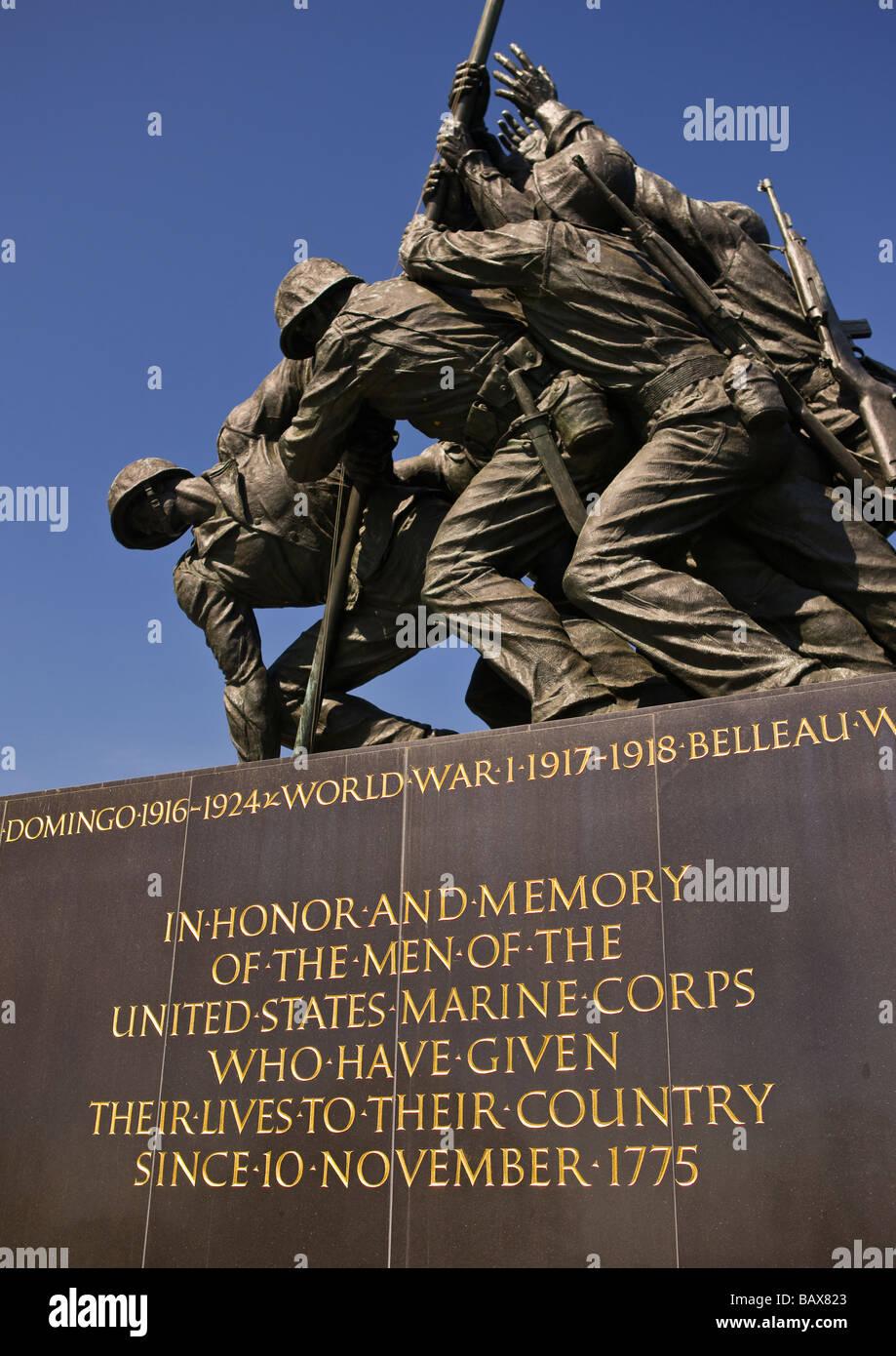 arlington virginia usa united states marine corps war