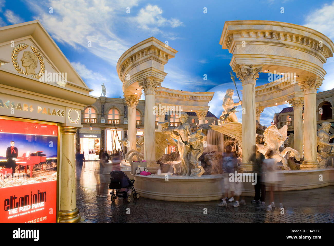 the forum shops at caesars palace in las vegas las vegas nevada stock photo royalty free. Black Bedroom Furniture Sets. Home Design Ideas