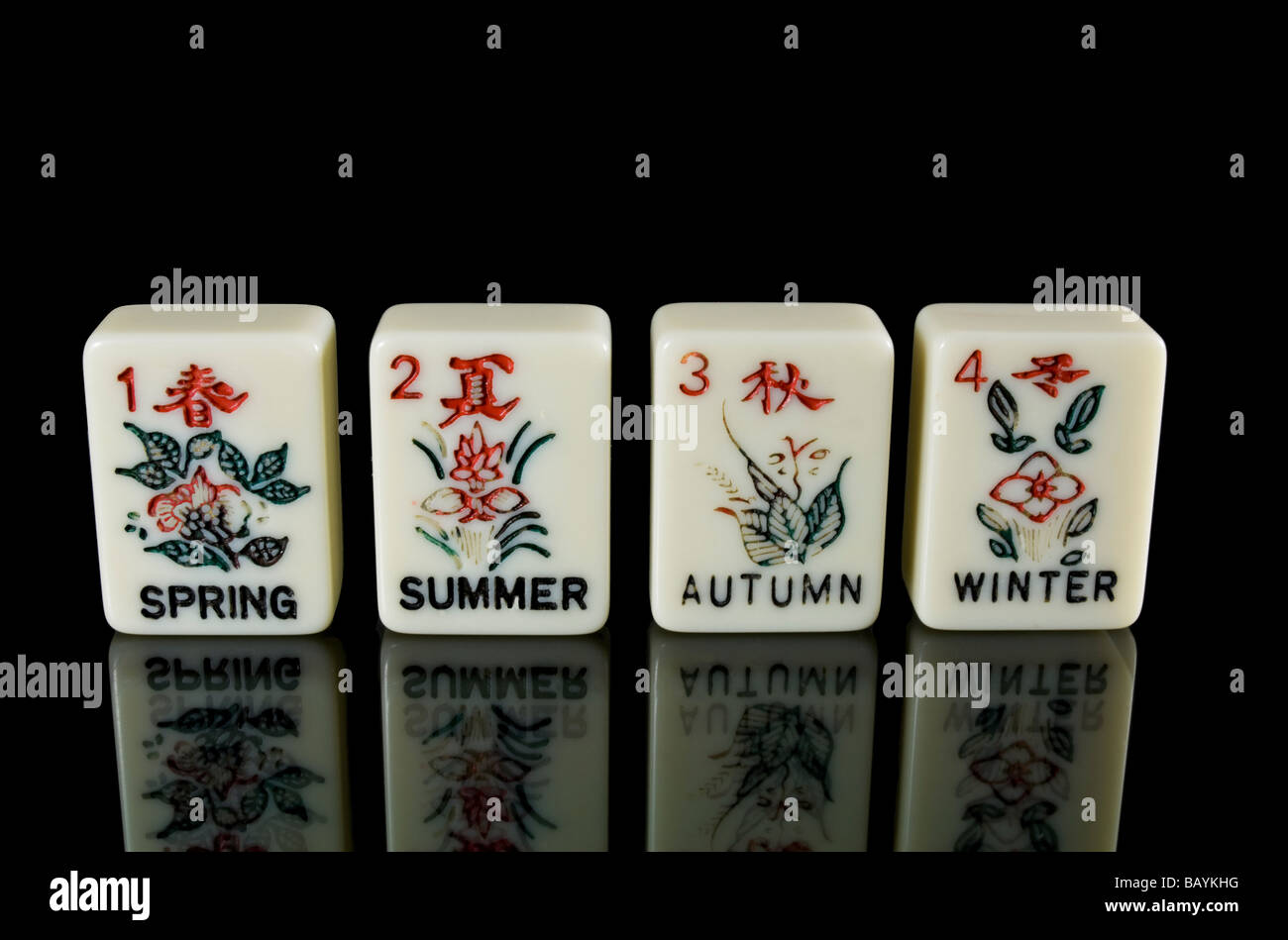 http://c8.alamy.com/comp/BAYKHG/hand-painted-seasons-tiles-in-the-ancient-chinese-game-of-mahjong-BAYKHG.jpg