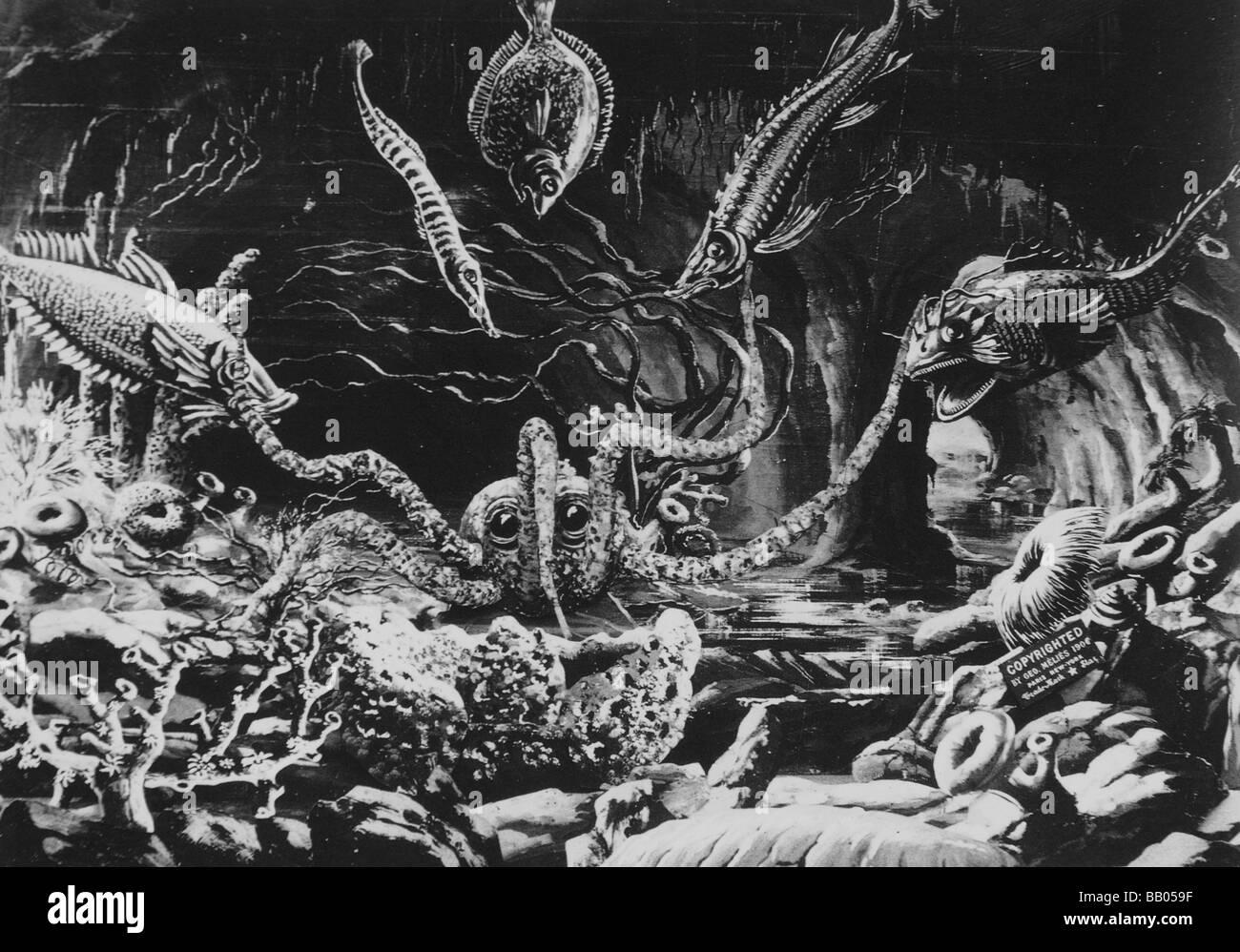 Deux cent mille lieues sous les mers 20 000 leagues under the sea stock photo - Cent mille lieues sous les mers ...