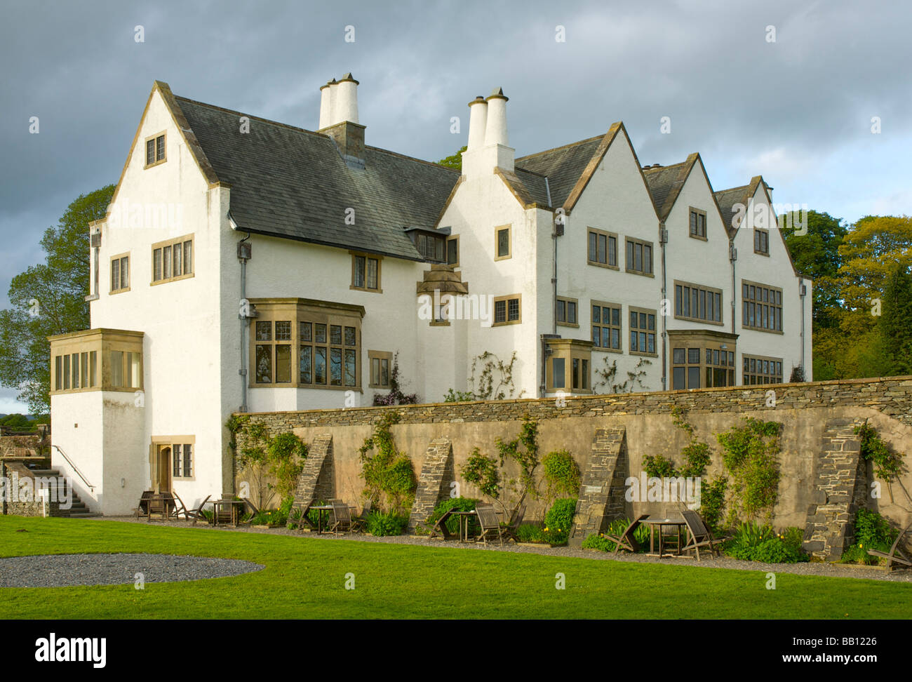 Blackwell Arts And Crafts House Overlooking Lake Windermere Near Bowness District National Park Cumbria England UK
