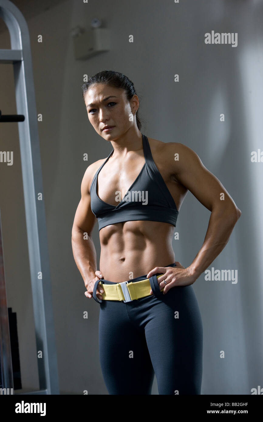Matchless Fit girls with abs remarkable, rather