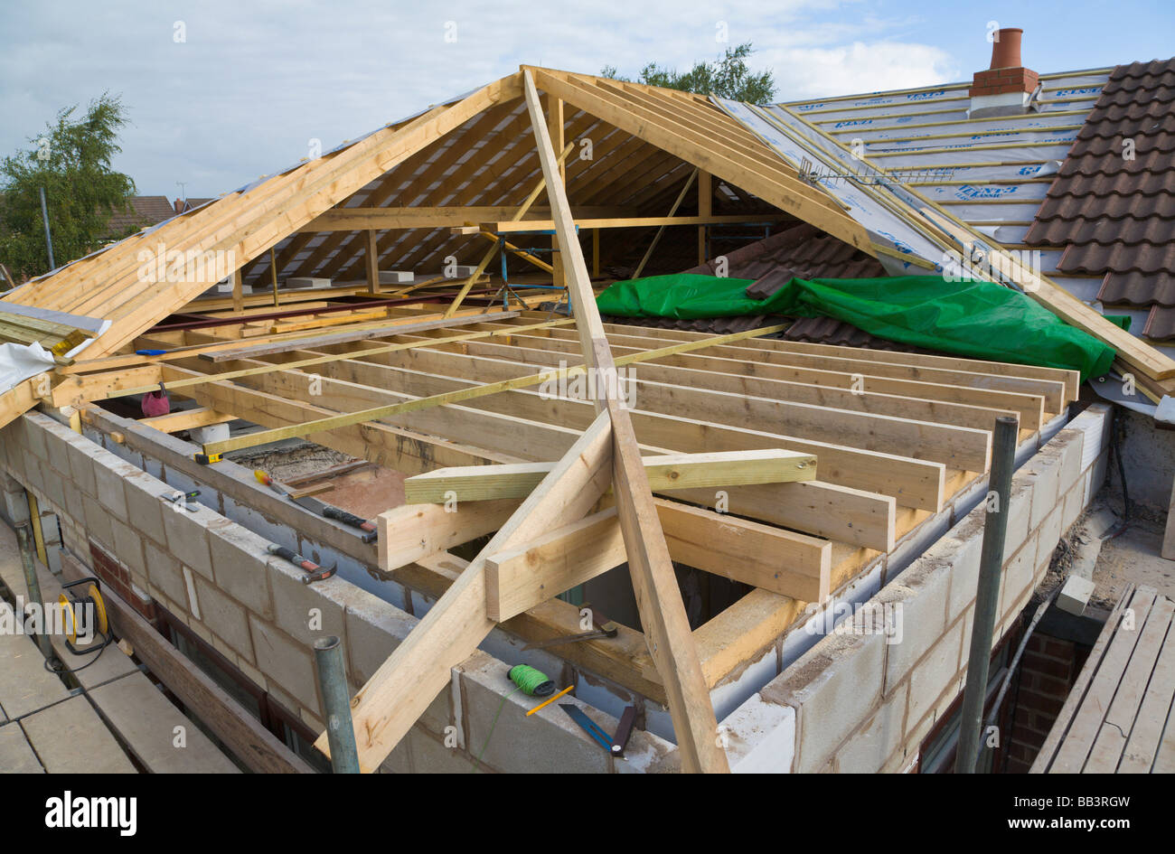 how to put a new roof on a house