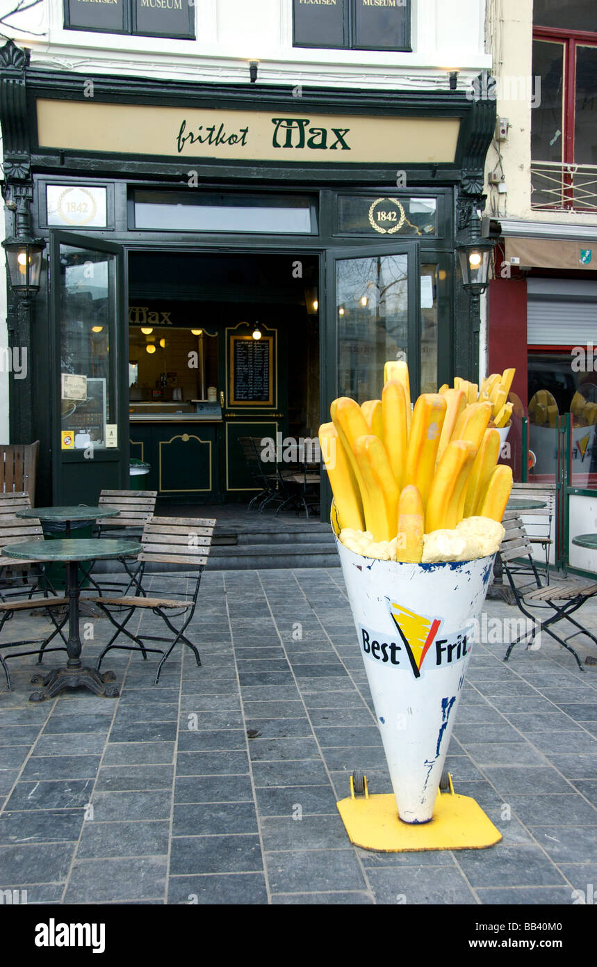 Gourmet French Fry Stand