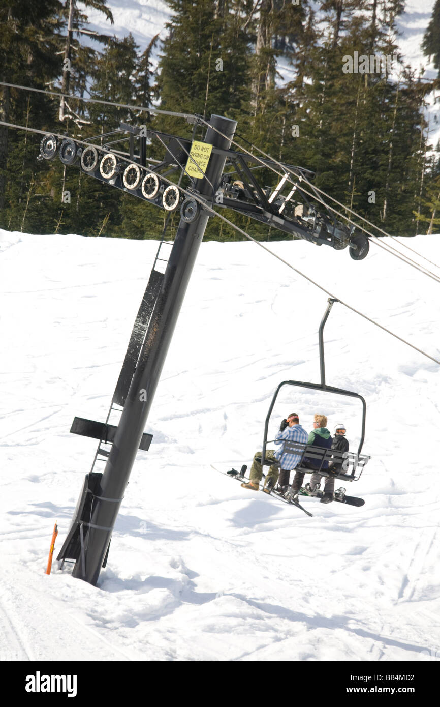 Wa mount baker ski area white salmon lodge chair 7 at for Chair 6 mt baker