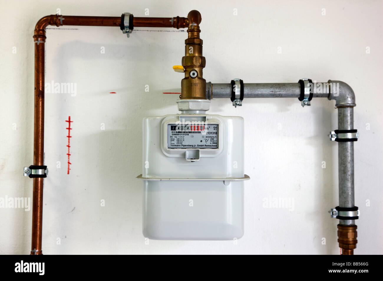 Private Natural Gas Meter