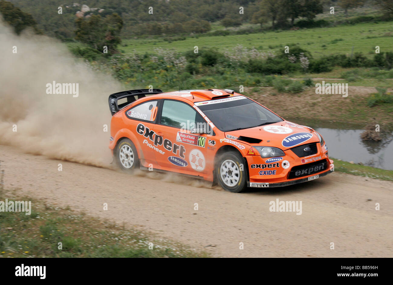 Norwegian Drivers Henning Solberg and Cato Menkerud driving a Ford ...