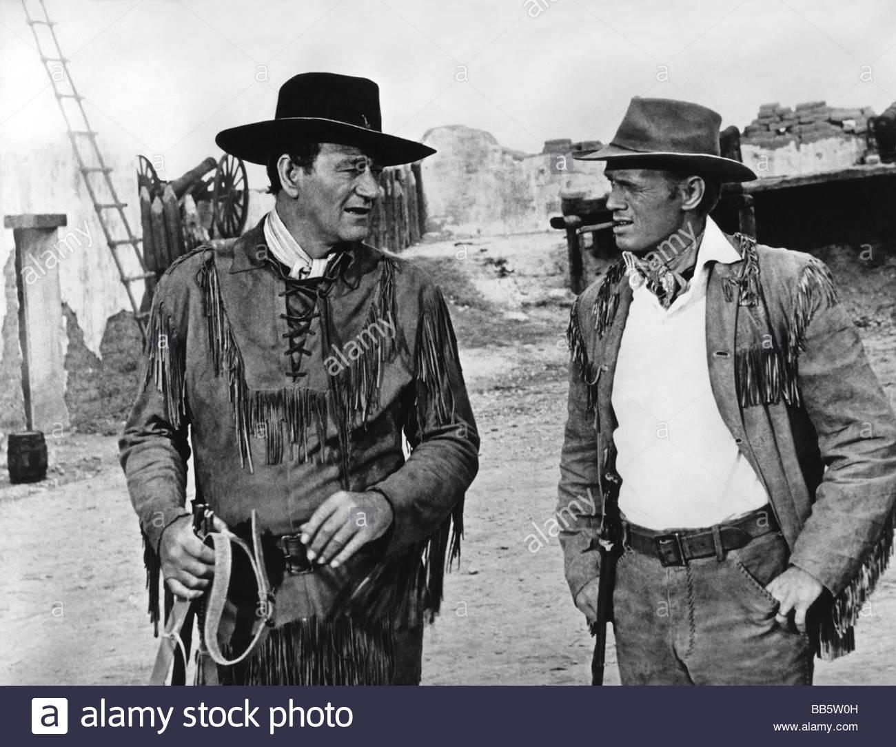 Richard Widmark and john wayne