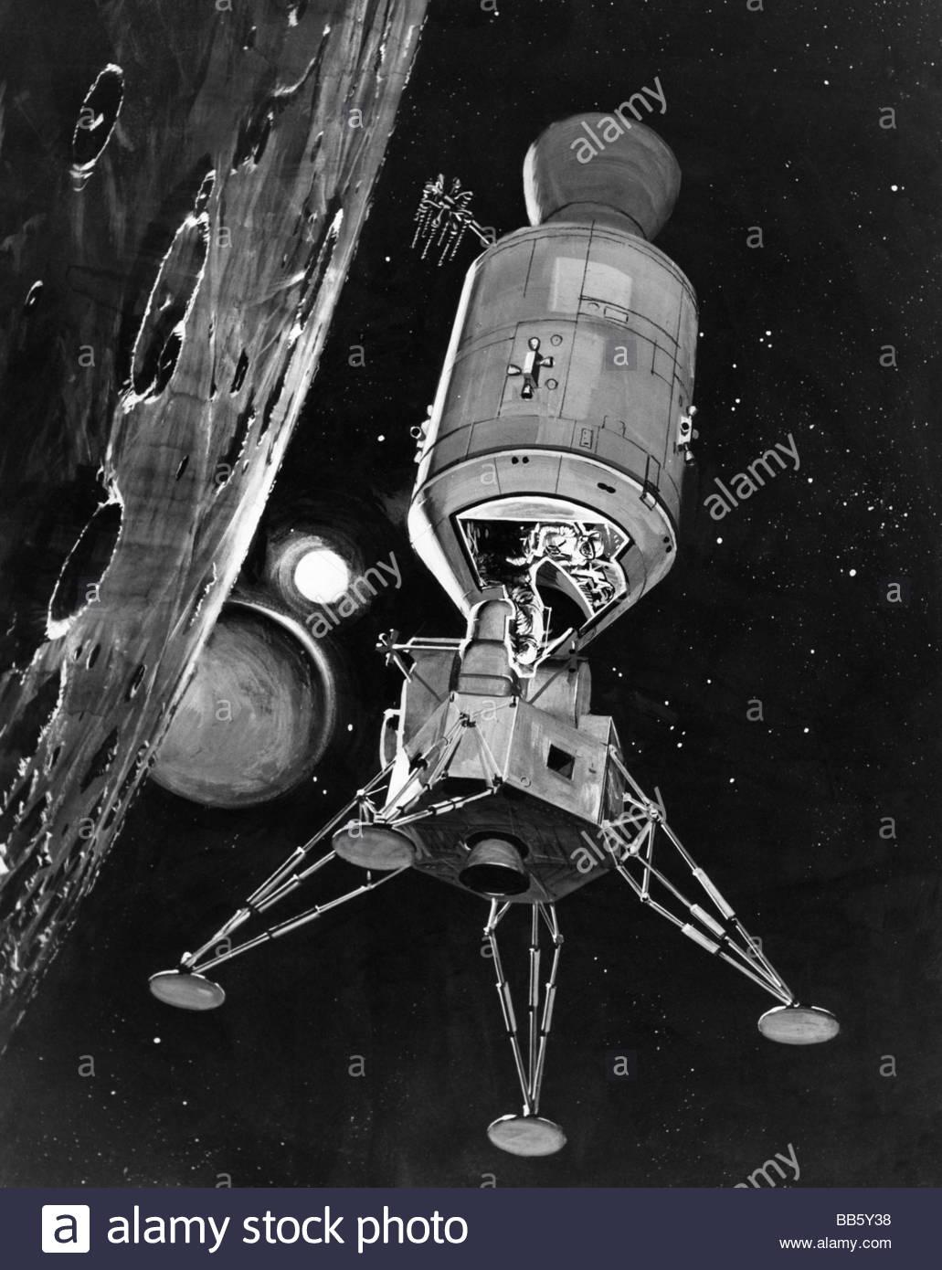 luna spacecraft drawings-#7
