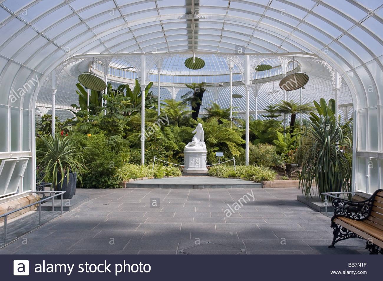 Interior View Of Glasgow Botanic Gardens