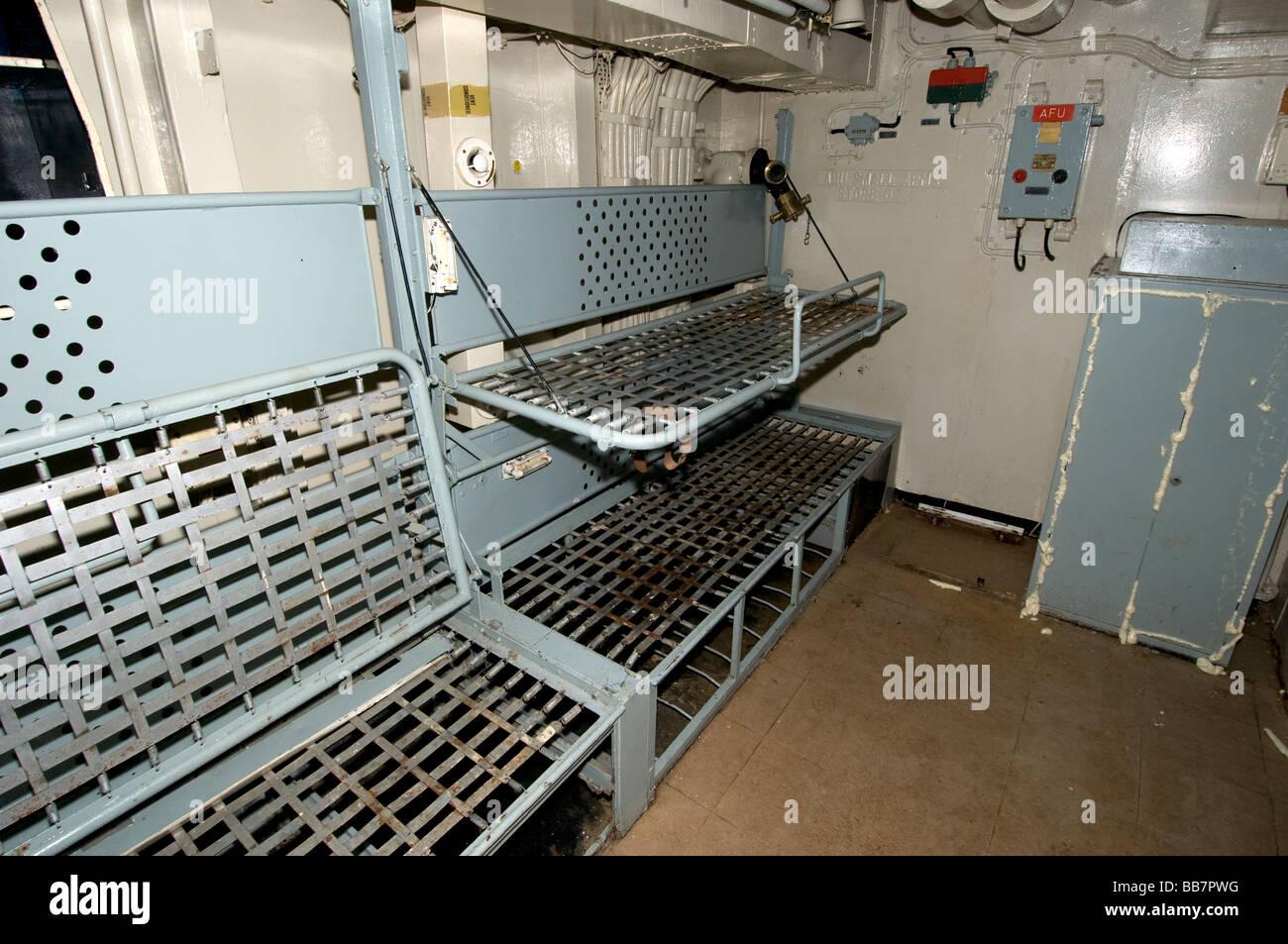 Navy Ship Bunk Beds Stock Photo Royalty Free Image
