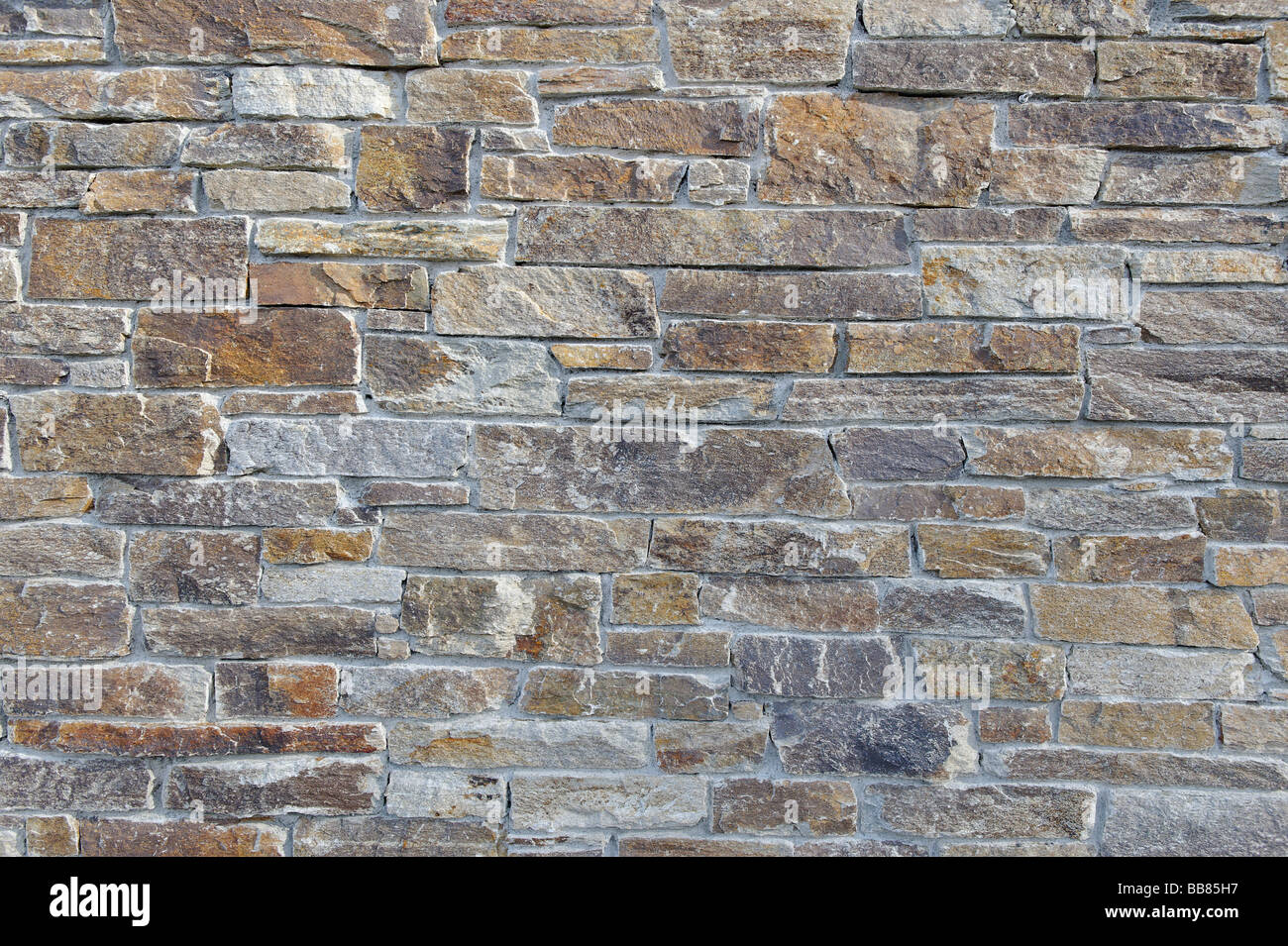 Stone wall, brick facade, gneiss wall Stock Photo, Royalty Free ...