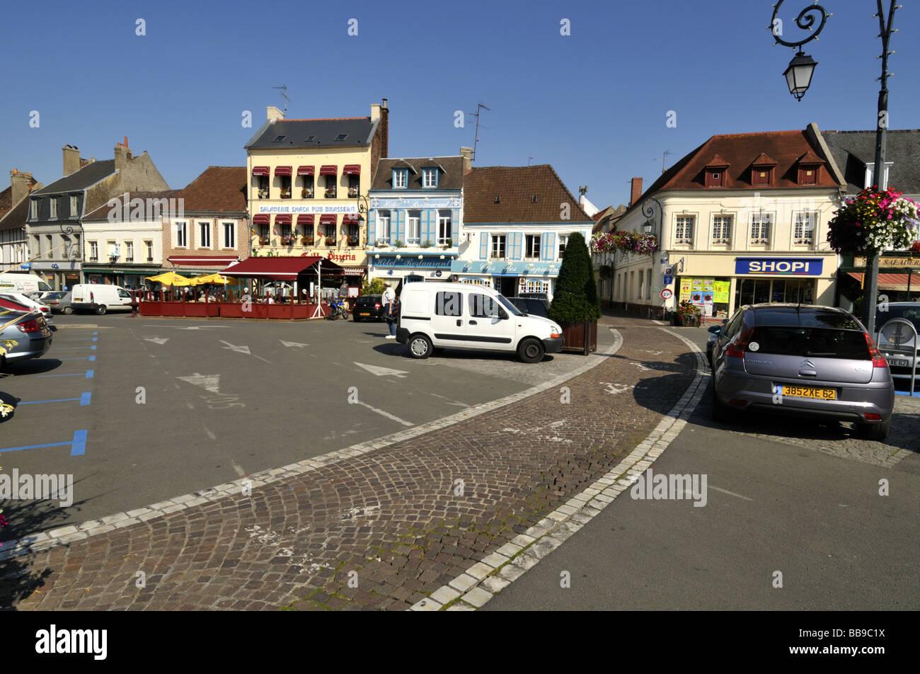 Place du general de gaulle montreuil sur mer nord pas de - Office du tourisme de montreuil sur mer ...