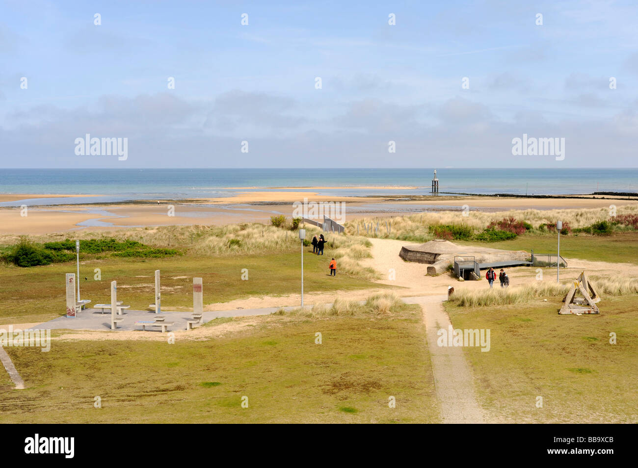 d day juno beach courseulles sur mer landing beach normandy france stock photo royalty free. Black Bedroom Furniture Sets. Home Design Ideas