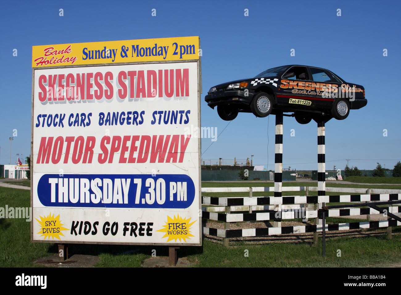 Banger Race Car Stock Photos Banger Race Car Stock Images Alamy