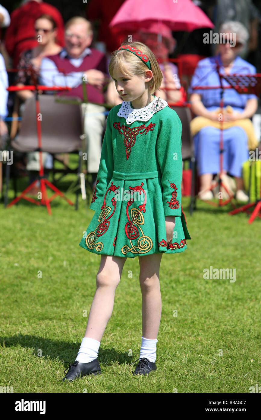 April the Dancing irish girl
