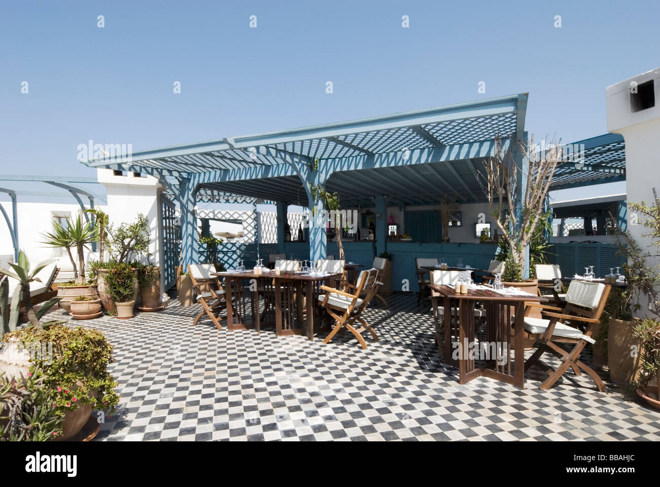 Rooftop terrace restaurant and bar at l 39 heure bleue for Terrace hotel restaurant