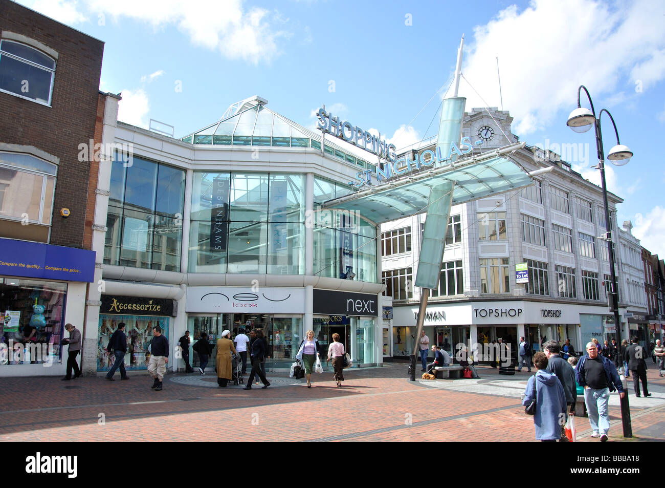 St Nicholas Centre High Street Sutton London Borough
