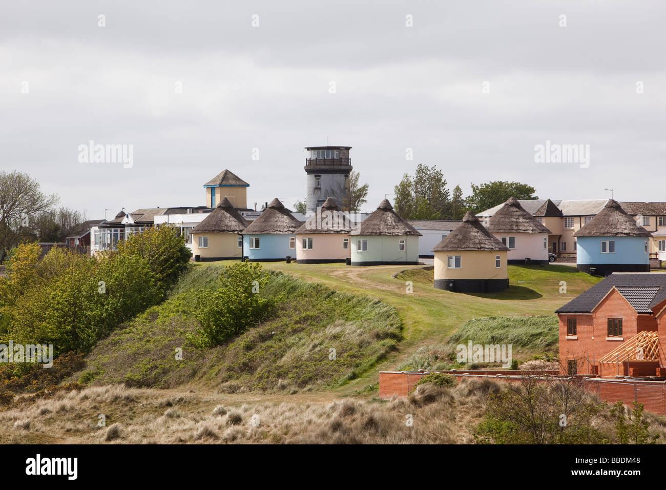 Uk England Norfolk Winterton On Sea Lighthouse Above