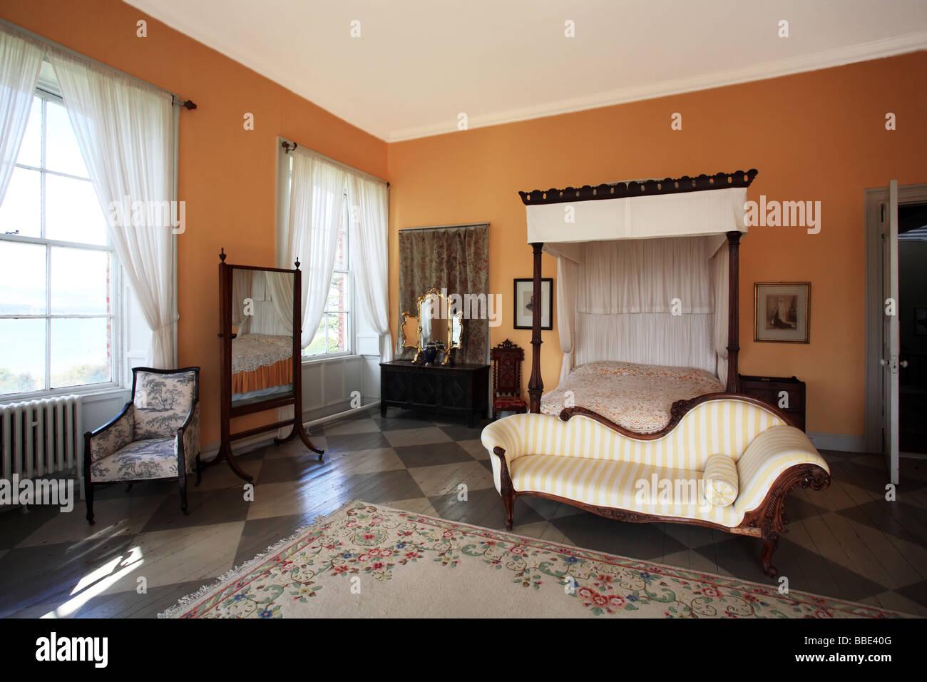 bantry house interior west cork ireland stock photo, royalty free