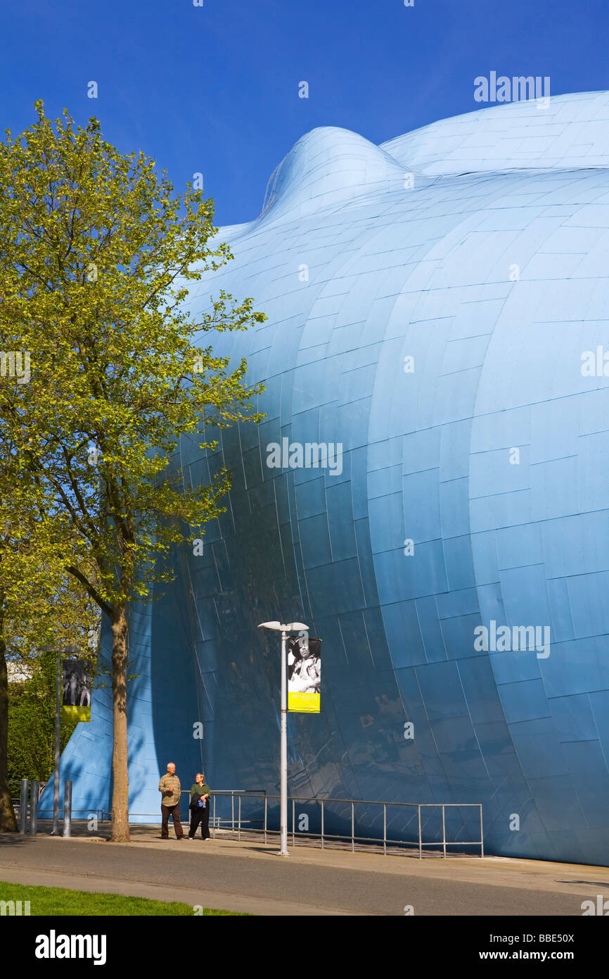 Elegant Experience Music Project And Science Fiction Museum And Hall Of Fame;  Seattle Center, Seattle